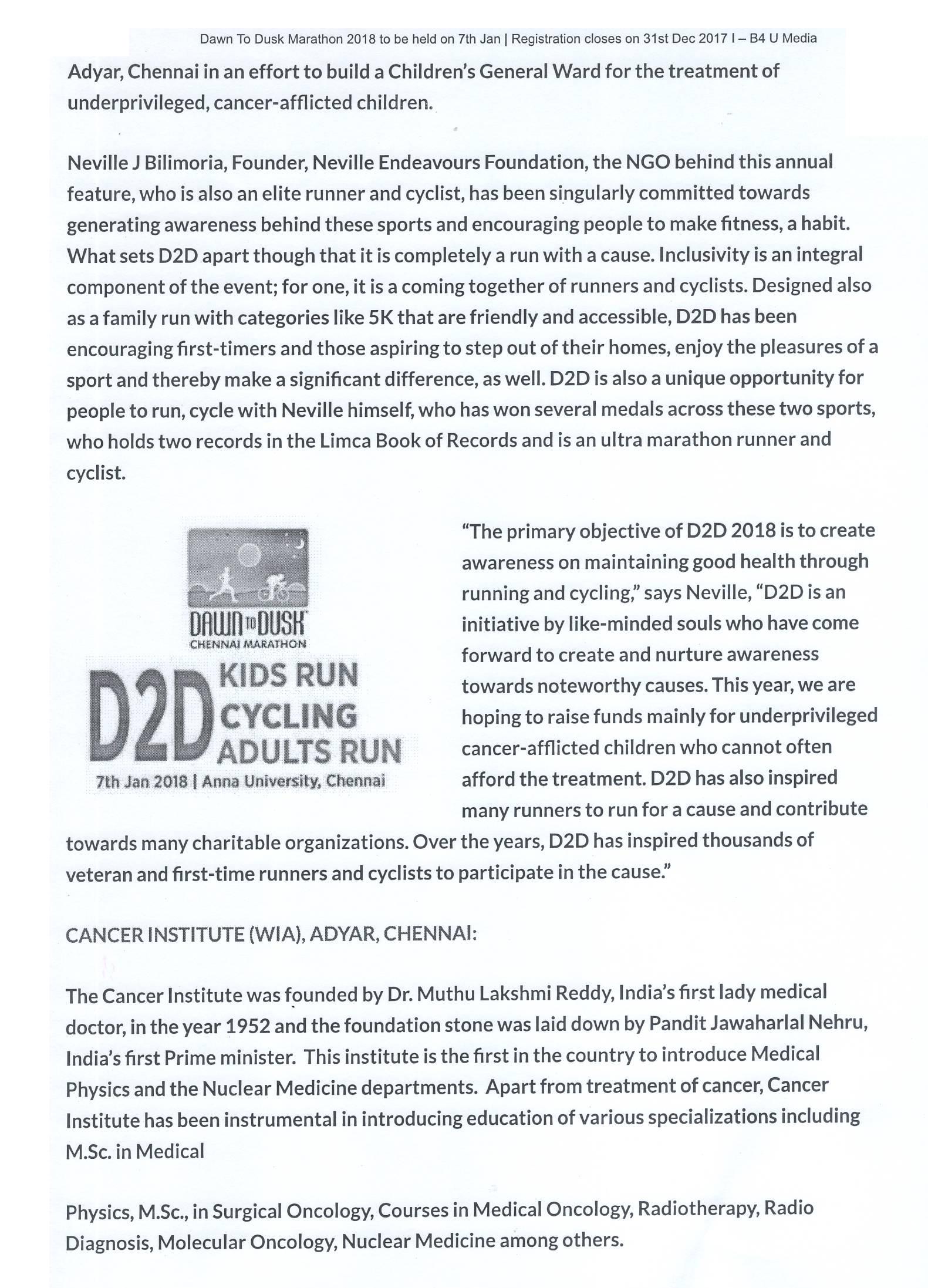 Dawn  To Dusk 2018 – B4 U Media – 09.01.18